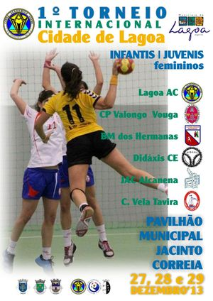 Cartaz I Torneio Internacional Cidade de Lagoa