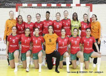 Seleção Nacional Sub20 Femininas 2017-2018