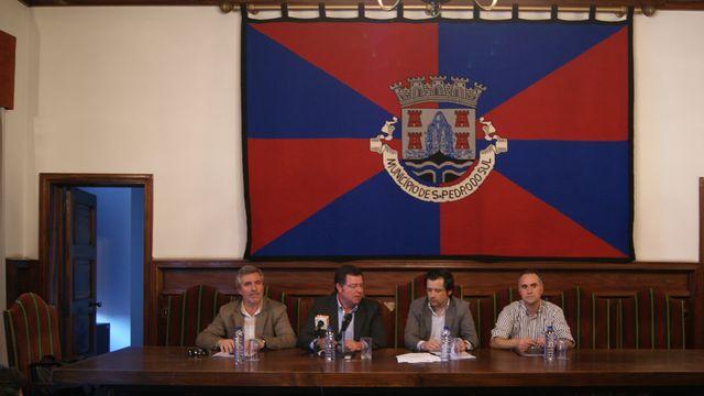Assinatura Protocolo FAP - CM S. Pedro Sul