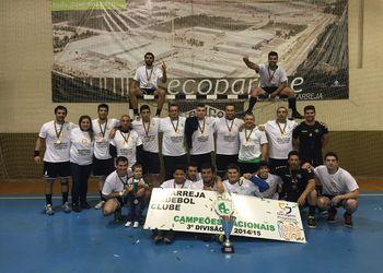 Estarreja Andebol Clube campeão nacional da 3ª Divisão de Seniores Masculinos