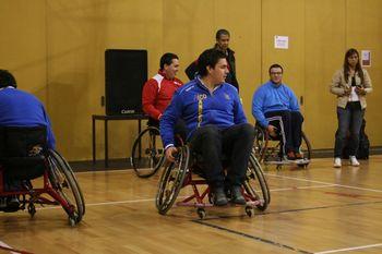 2ª Acção Nacional de Formação de Andebol em Cadeira de Rodas - 05.03.10, Univ. Minho