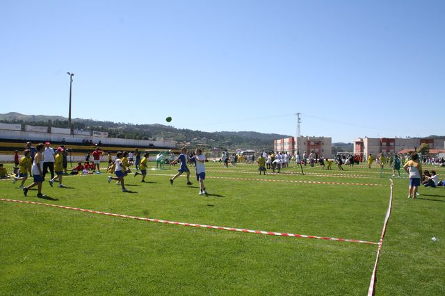 Festa Nacional de Encerramento Projecto Piloto Andebol em Fafe