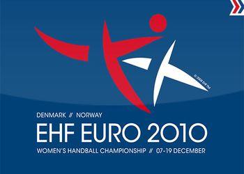 Logo Euro 2010 Dinamarca - Noruega