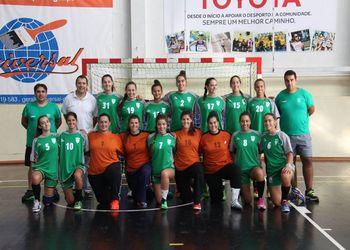 Plantel CA Leça 2016-17 - Campeonato 1ª Divisão Feminina