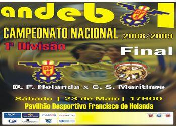 Cartaz 1ª Mão Final Campeonato Nacional 1ª Div. Seniores Masculinos