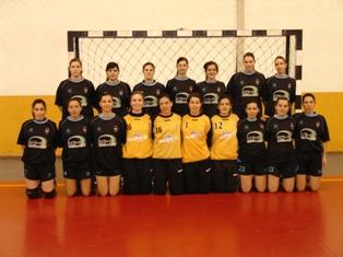 CS Juventude Mar - Campeão Nacional 2ª Divisão Seniores Femininos 2008-09