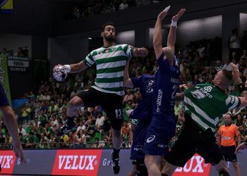 Sporting CP - Montpellier HB - Velux EHF Champions League - foto: Ricardo Rosado