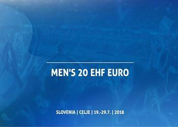 Sorteio grupos do Campeonato da Europa Sub20 Masculinos Eslovénia 2018