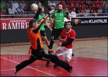 SL Benfica - Handball Kaerjeng - 1ª mão da 2ª eliminatória da EHF Cup Masculina - foto: Ricardo Rosado