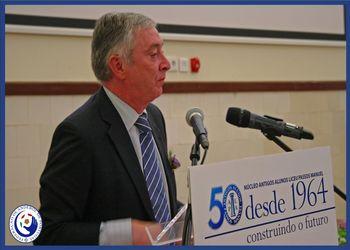 Presidente Ulisses Pereira no 50º aniversário do NAAL Passos Manuel
