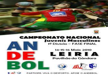 Cartaz Fase Final do Campeonato Nacional de Juvenis Masculinos da 1ª Divisão