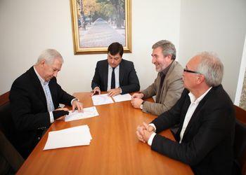 Assinatura de Protocolo entre a Federação e a Câmara Municipal de Resende