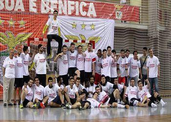 SL Benfica sagra-se Campeão Nacional de Juniores Masculinos da 1ª Divisão