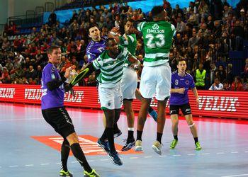 Chekhovske Medvedi : Sporting CP - Velux EHF Champions League