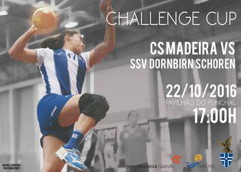 Cartaz CS Madeira : SSV Dornbirn Schoren - Challenge Cup