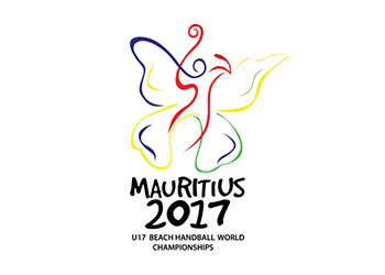 Logótipo - Wch Mauritius 2017 Beach Handball