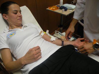 Campanha colheita de sangue Gil Eanes