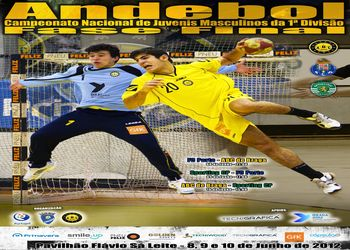 Cartaz Fase Final CN Juvenis Masculinos 1ª Divisão em Braga