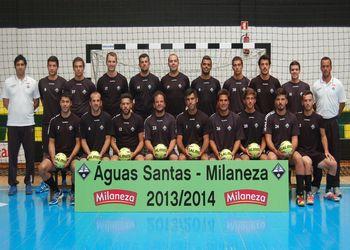 Plantel Águas Santas-Milaneza 2013-14