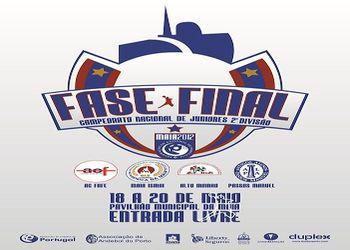 Cartaz Fase Final Juniores Masculinos da 2ª Divisão 2011/12