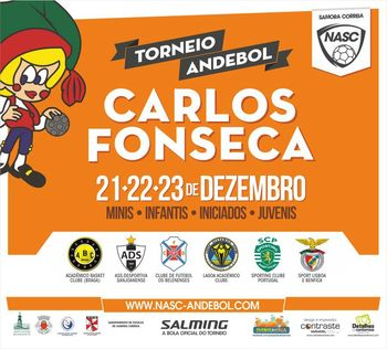 Cartaz do Torneio Carlos Fonseca 2012
