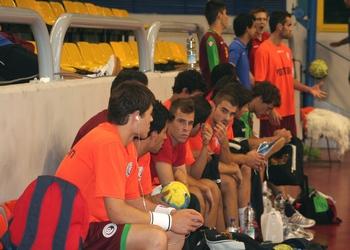 Selecção Nacional Junior A masculina no Campeonato do Mundo Sub-21 masculinos Egipto 2009