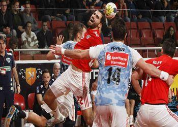 Nuno Grilo - SL Benfica : TSV Hannover-Burgdorf - foto: site SLB
