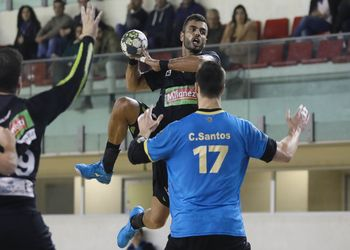 Pedro Cruz - ADA Maia-ISMAI : Águas Santas Milaneza - Campeonato Andebol 1 - foto: PhotoReport.In