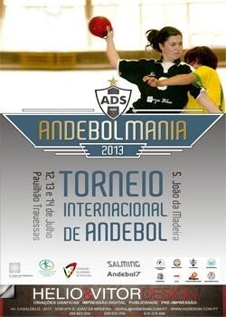 Torneio Internacional Andebol S.João Madeira -2013