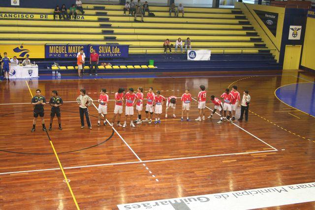 SLB : DFH - Fase Final Campeonato Nacional 1ª Divisão Iniciados Masculinos - Troféu Pousadas da Juventude 2