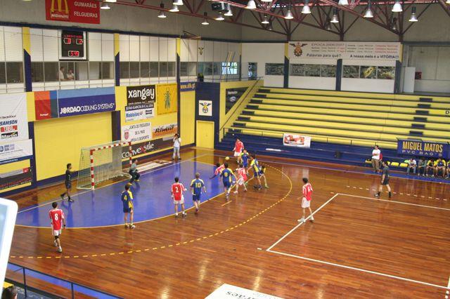 SLB : DFH - Fase Final Campeonato Nacional 1ª Divisão Iniciados Masculinos - Troféu Pousadas da Juventude 5