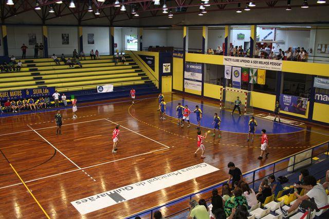 SLB : DFH - Fase Final Campeonato Nacional 1ª Divisão Iniciados Masculinos - Troféu Pousadas da Juventude 8