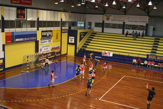 SLB : DFH - Fase Final Campeonato Nacional 1ª Divisão Iniciados Masculinos - Troféu Pousadas da Juventude 11