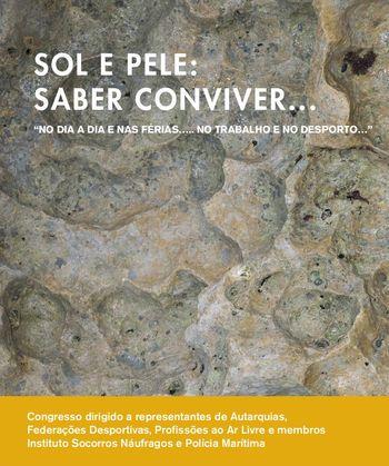 """Cartaz Ação de Formação - """"Sol e Pele: Saber conviver; Cancro da Pele: Saber reconhecer"""" - Lisboa, 11.05.18"""