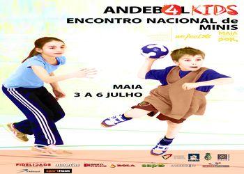 Cartaz EN Minis - Maia, 3 a 6 de Julho