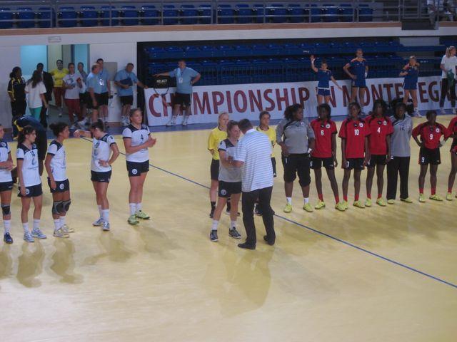 Mariana Lopes - Melhor Jogadora - Angola : Portugal - Campeonato do Mundo Sub18 femininos