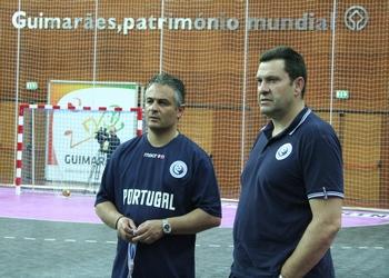 Rolando Freitas e Luis Pinto - Treino seleção - 11.06.2013