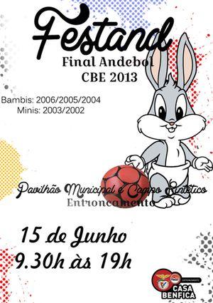 Cartaz Festand Final Casa Benfica Entroncamento