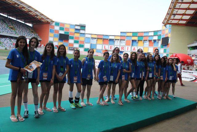 Jac-Alcanena - 2º classificado ENI Femininos Leiria 2015 foto - António Oliveira