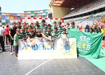 Sporting CP - vencedor ENI Masculinos Leiria 2015 foto - António Oliveira