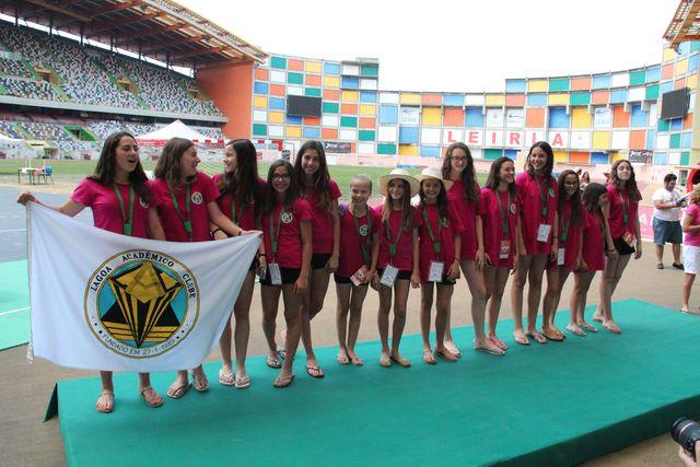 Lagoa AC - vencedor ENI Femininos Leiria 2015 foto - António Oliveira