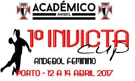 Logo Invicta Cup - Torneio de Andebol Feminino