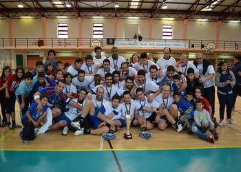 NAAL Passos Manuel - campeão nacional 2ª divisão seniores masculinos 2012-13