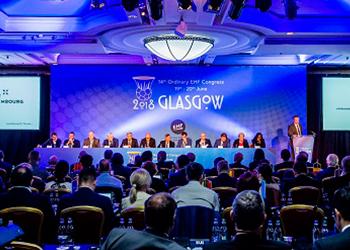 Congresso EHF - Glasgow 2018