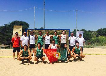 Portugal - Selecção Nacional de Andebol de Praia sub19 masculinos