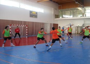 Scandibérico 2014 - Juniores B treinam em Figueira Castelo Rodrigo 2