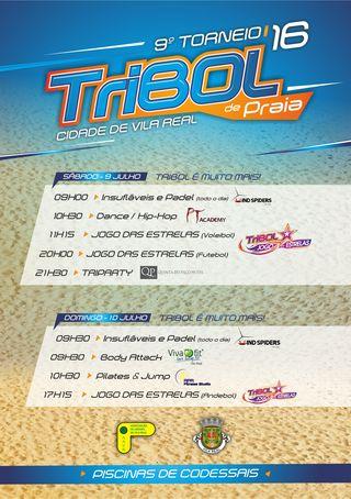 9º Torneio Tribol de Praia Cidade de Vila Real / Intermarché - actividades