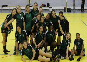 Seleção Nacional Sub-17 Feminina 2018-2019 - foto: Luís Neves