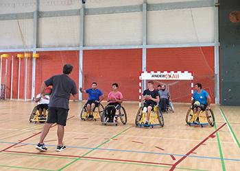 Seleção Nacional de Andebol em Cadeira de Rodas - Odivelas