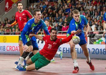 Nuno Grilo - Portugal : Eslovénia - qualificação Europeu Croácia 2018 - foto: Pedro Alves